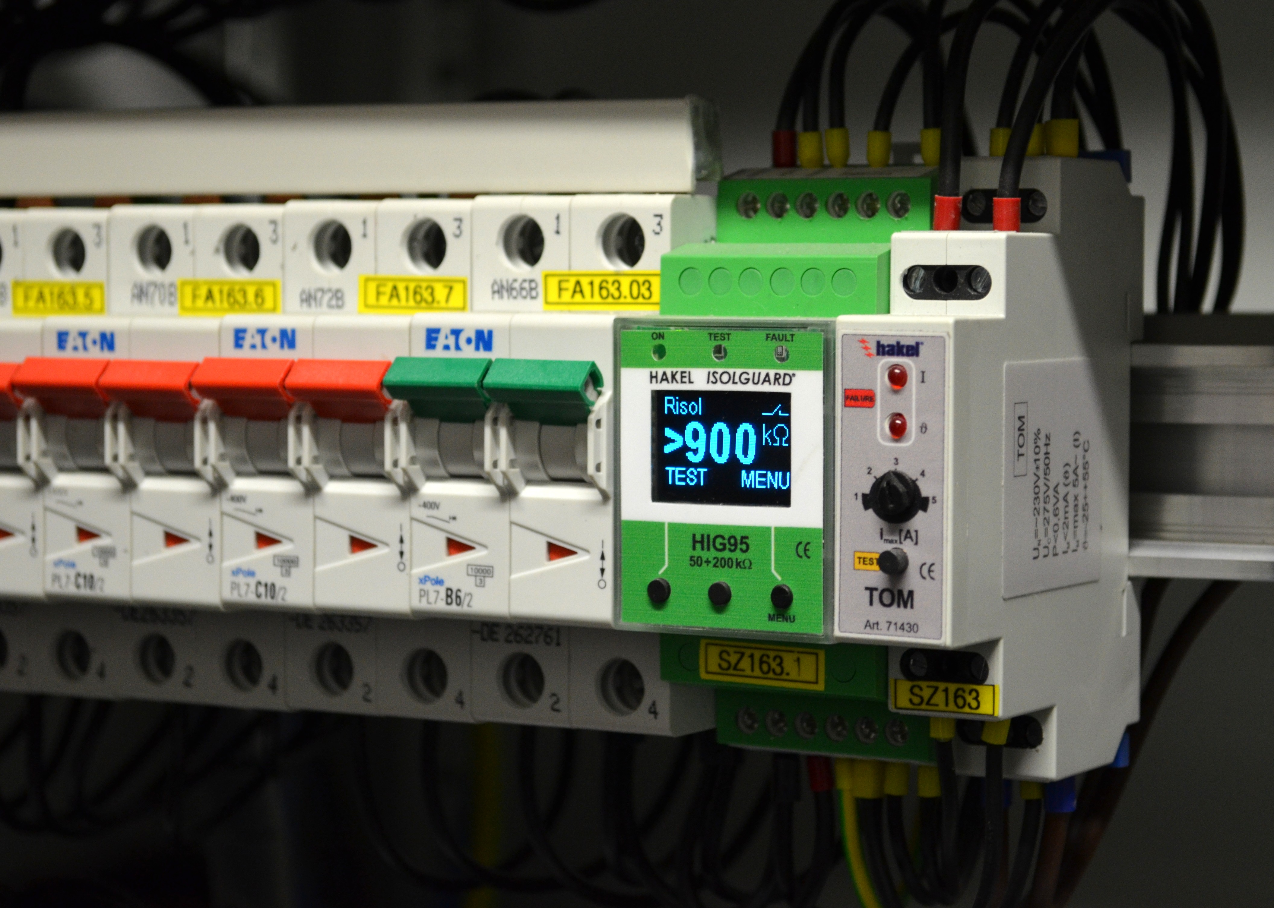 insulation monitoring of hospital ungrounded power system