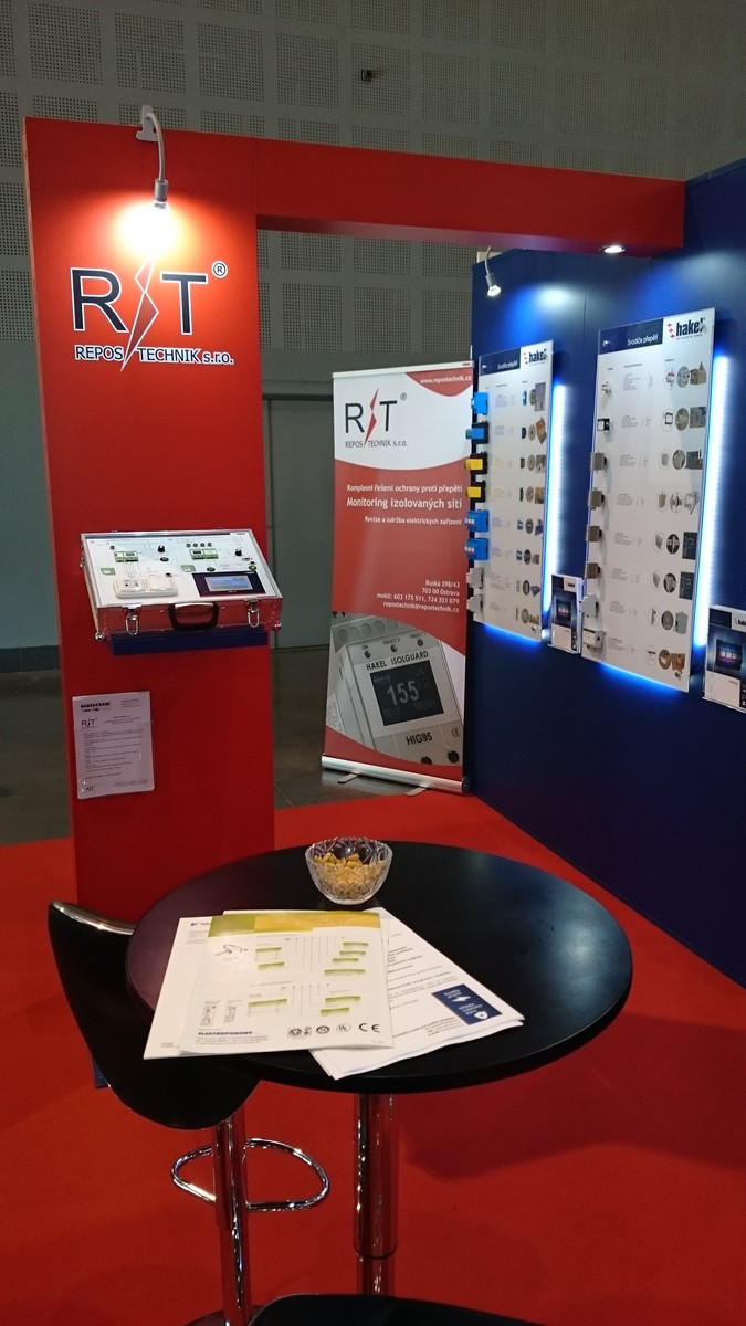 International trade fair of electrotechnics AMPER 2015