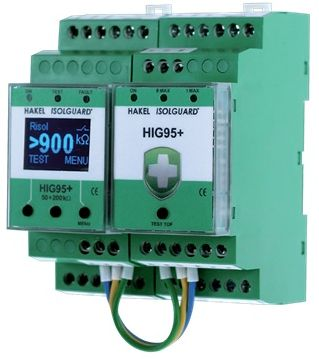 HIG95 plus - insulation, temperature and current overload monitoring in healthcare