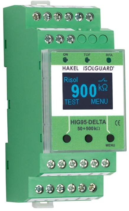 HIG95-DELTA - insulation, temperature and current overload monitoring in healthcare